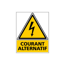 Adhesif PHOTOVOLTAIQUE COURANT ALTERNATIF (C1135)