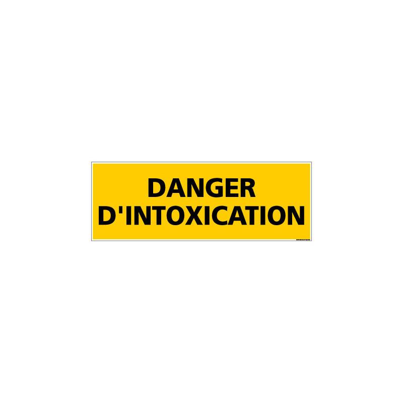 Panneau de Signalisation DANGER D'INTOXICATION (C1140)