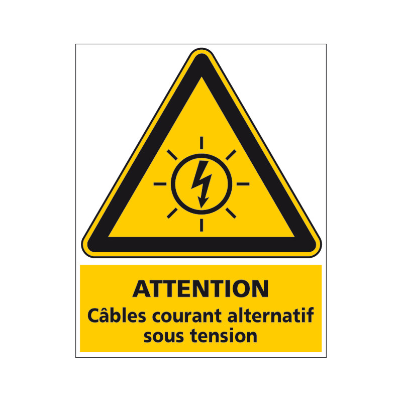 Adhesif PHOTOVOLTAIQUE CABLES COURANT ALTERNATIF (C1246)