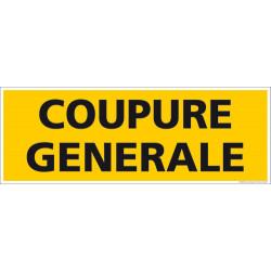 Panneau Coupure Generale (C1254)