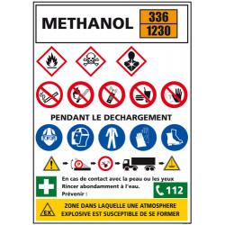 Consigne produits dangereux METHANOL (C1296)