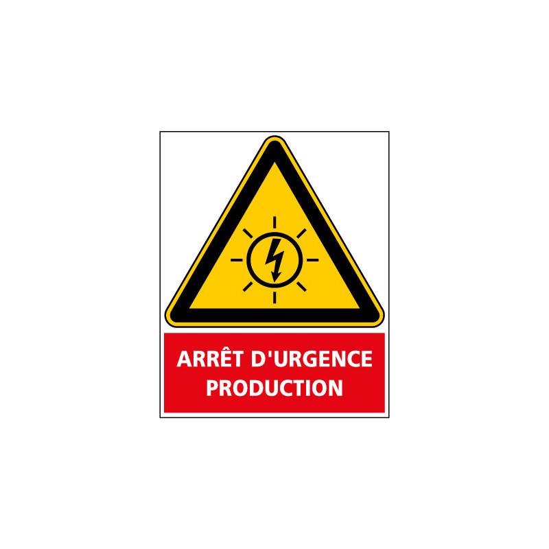 ADHESIF PHOTOVOLTAIQUE ARRET D'URGENCE (C1298)