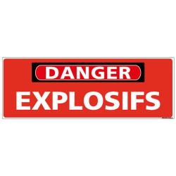 Panneau - DANGER - Explosifs (C1317)