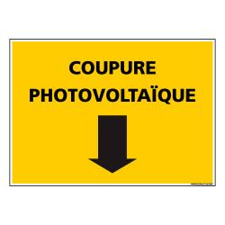 SIGNALISATION COUPURE PHOTOVOLTAIQUE (C1333)