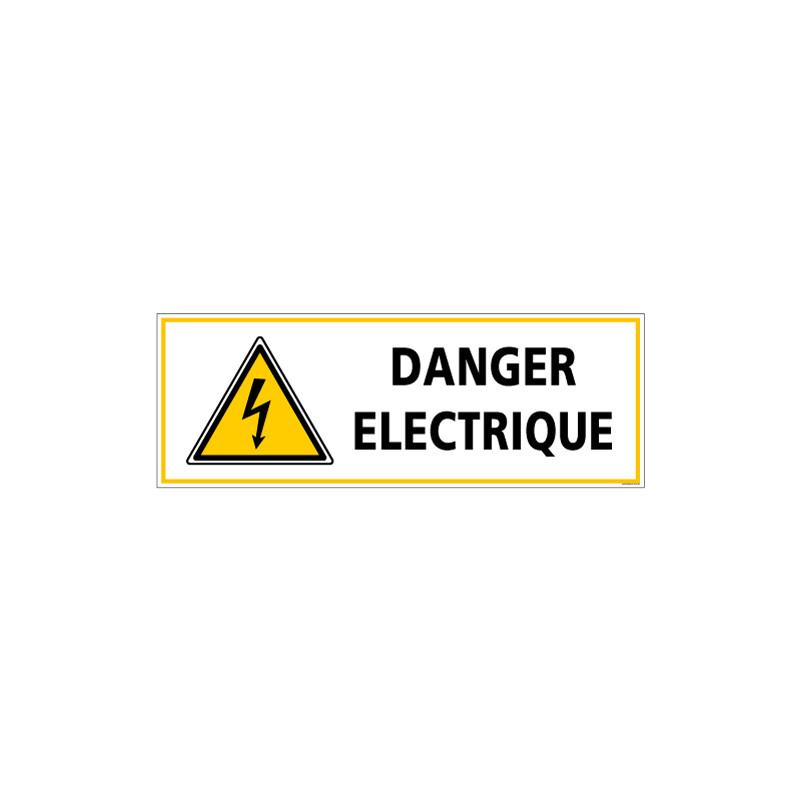 Panneau - DANGER ELECTRIQUE (C1337)