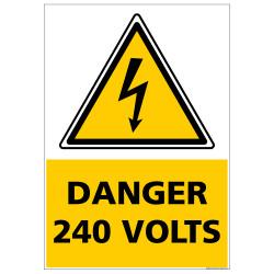 Signalisation danger electrique (C1347)
