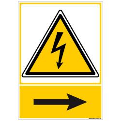 Signalisation danger electrique (C1349)