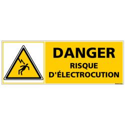 Signalisation danger electrique (C1368)