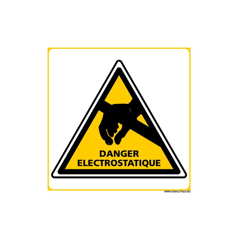 PANNEAU DANGER ELECTROSTATIQUE (C1394)