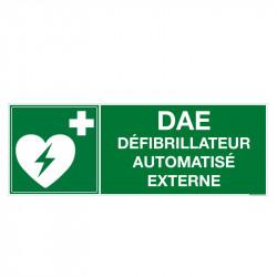 PANNEAU DAE DEFIBRILLATEUR...