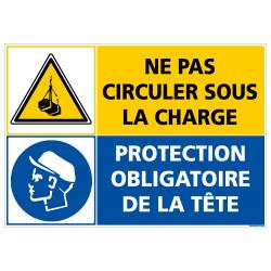 PANNEAU CHARGE SUSPENDUE - EPI OBLIGATOIRE (C1411)