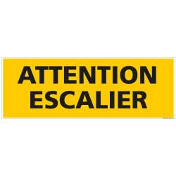 PANNEAU ATTENTION ESCALIER (C1460)