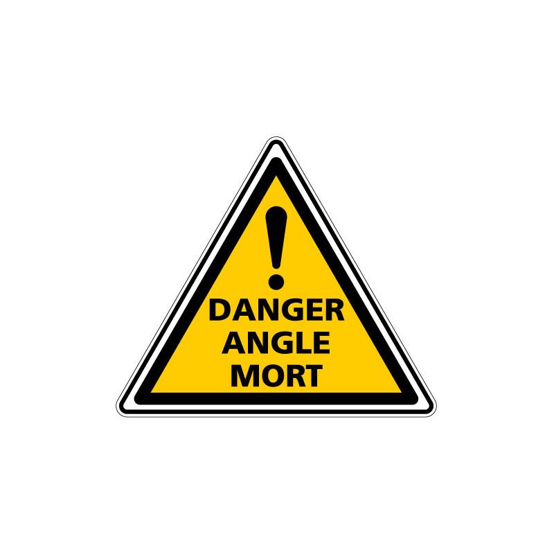 PANNEAU DANGER ANGLE MORT (C1468T)