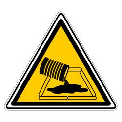 PANNEAU DANGER ABSORPTION EN COURS (C1481T)