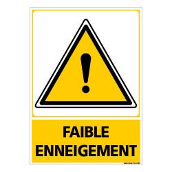 PANNEAU FAIBLE ENNEIGEMENT (C1488)