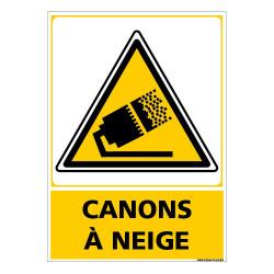 PANNEAU CANONS A NEIGE (C1493)