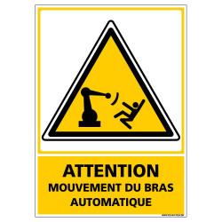 PANNEAU MOUVEMENT DE BRAS AUTOMATIQUE (C1501)