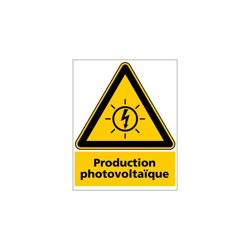 PANNEAU PRODUCTION PHOTOVOLTAIQUE (C1502)