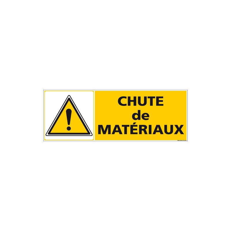 Panneau chute de materiaux - (C1513)