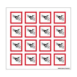Planche de Pictogrammes MATIERES EXPLOSIVES (SGH01_PL)