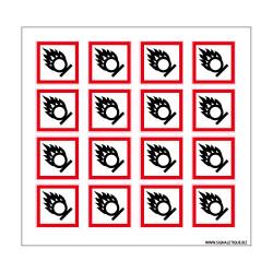 Planche de Pictogrammes MATIERES COMBURANTES (SGH03_PL)