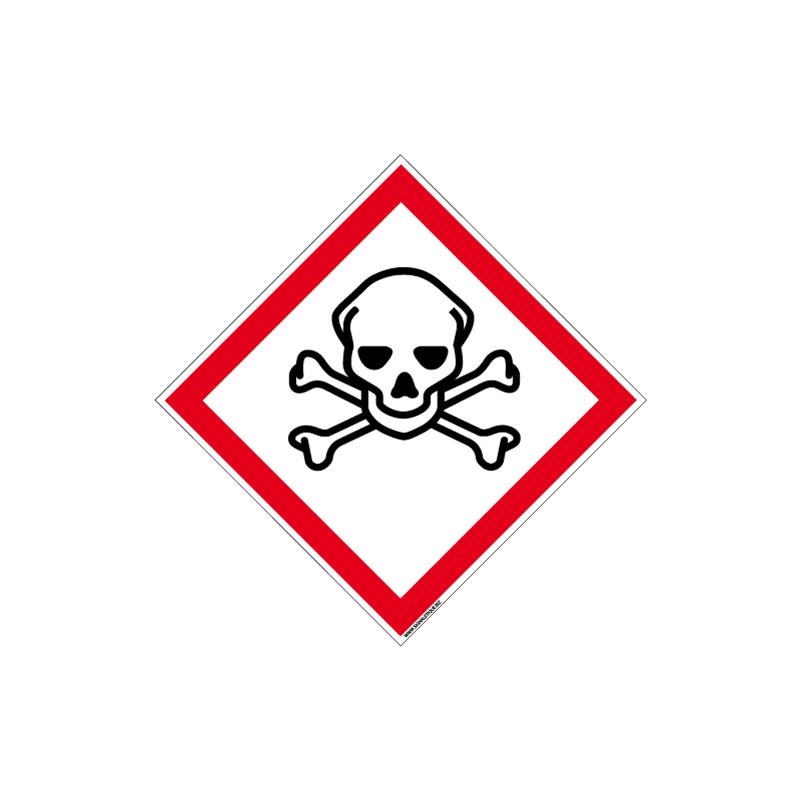 PANNEAU DANGER MATIERES TOXIQUES (SGH06)