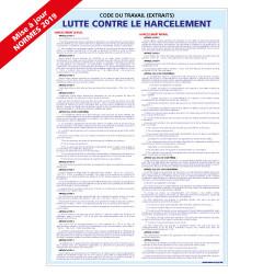 Panneau LUTTE CONTRE LE HARCELEMENT (A0312)