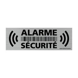 Autocollant Alarme Sécurité pour la maison