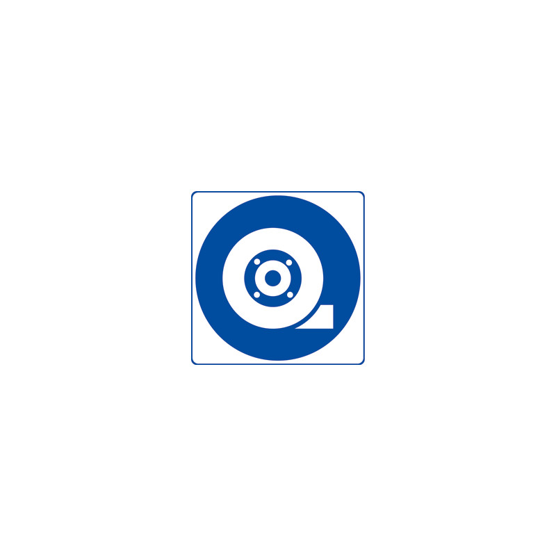 Panneau CALE OBLIGATOIRE (E0005)