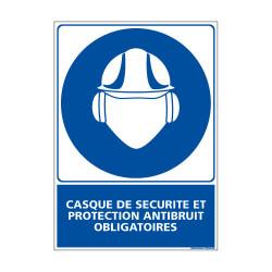 Panneau Obligation Casque et protection antibruit (E0300)