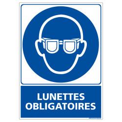 PANNEAU LUNETTES OBLIGATOIRES (E0350)