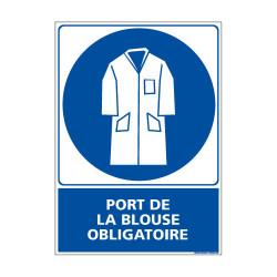 Panneau Obligation PORT DE LA BLOUSE Obligatoire (E0366)