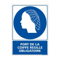 Panneau Obligation PORT DE LA COIFFE RESILLE OBLIGATOIRE (E0379)