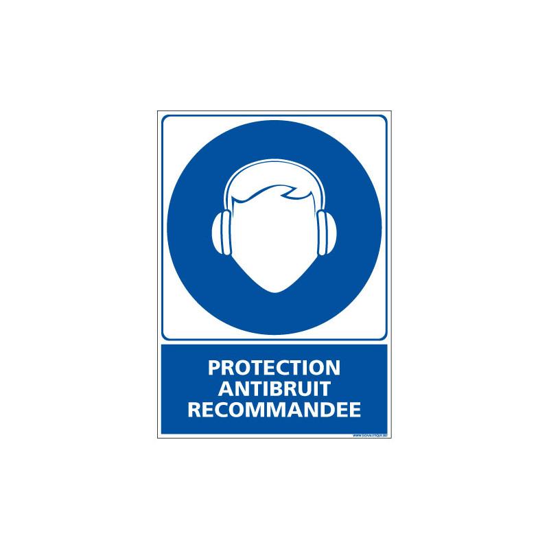 Panneau PROTECTION ANTIBRUIT RECOMMANDEE (E0395)