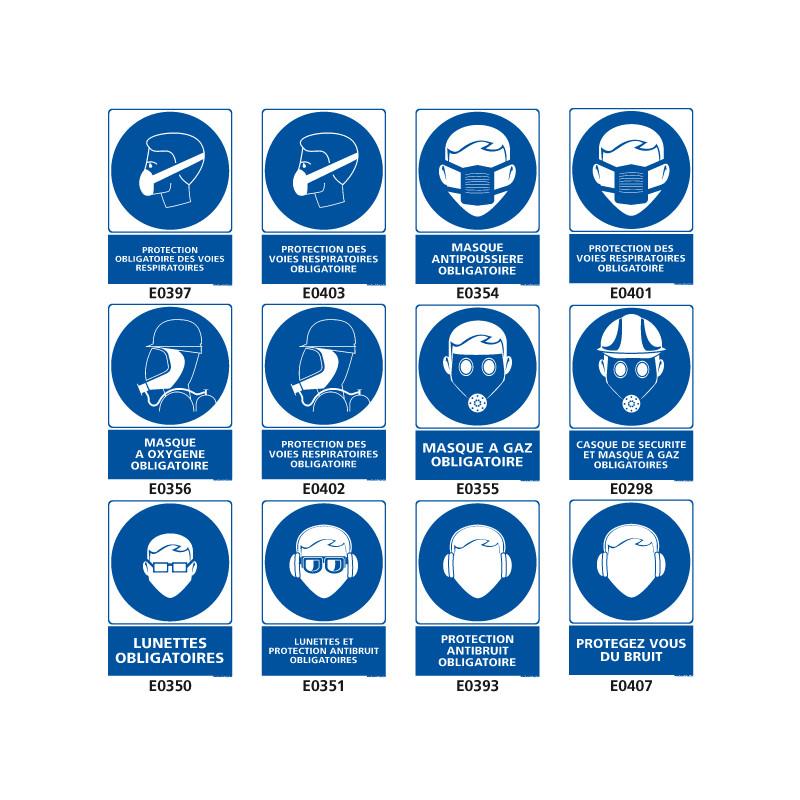 Panneaux d'obligation en industrie