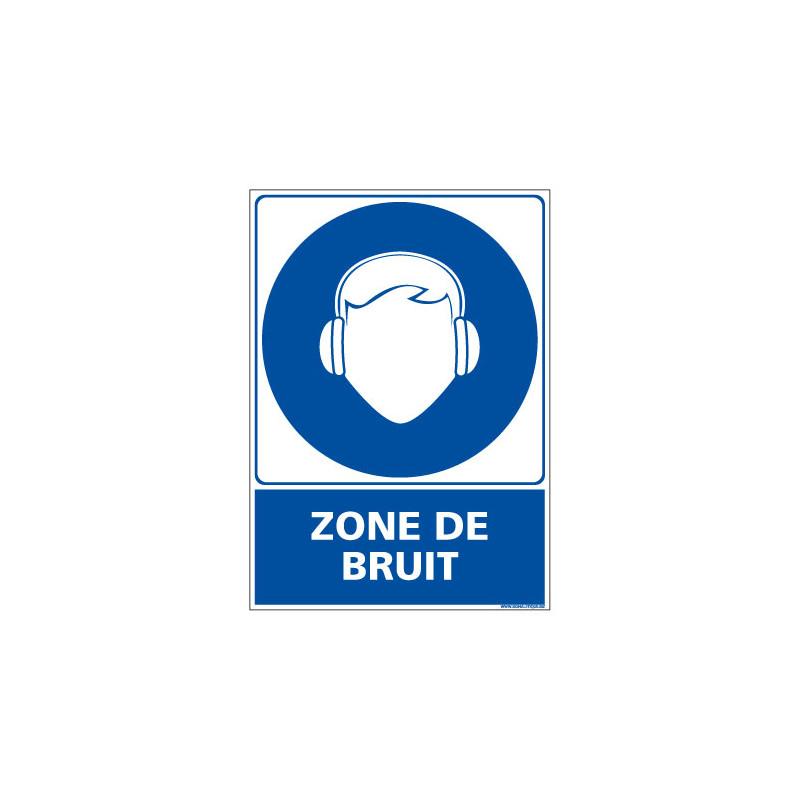 Panneau Obligation ZONE DE BRUIT (E0432)