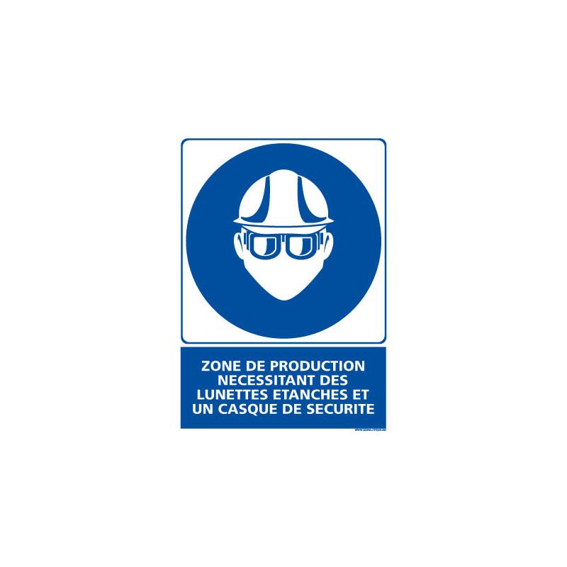 Panneau Obligation ZONE DE PRODUCTION - EPI (E0438)