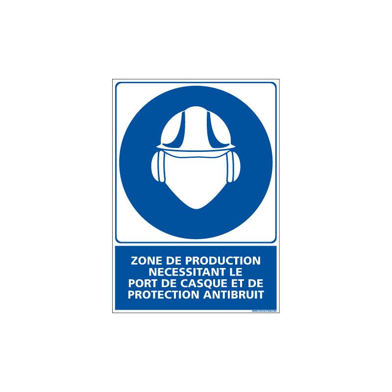 Panneau ZONE DE PRODUCTION (E0439)