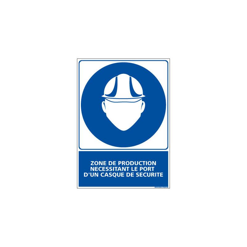 Panneau Obligation ZONE DE PRODUCTION - EPI (E0440)
