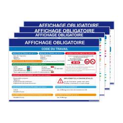 Kit d'affichage obligatoire du travail en entreprise