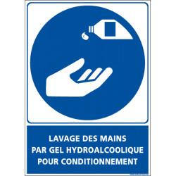 Panneau LAVAGE DES MAINS (E0609)