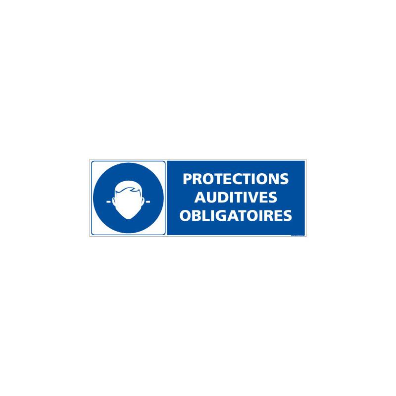 Panneau PROTECTIONS AUDITIVES OBLIGATOIRES (E0618)