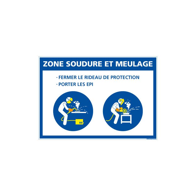 PANNEAU ZONE SOUDURE ET MEULAGE (E0627)
