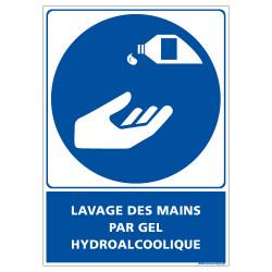 PANNEAU LAVAGE DES MAINS (E0675)