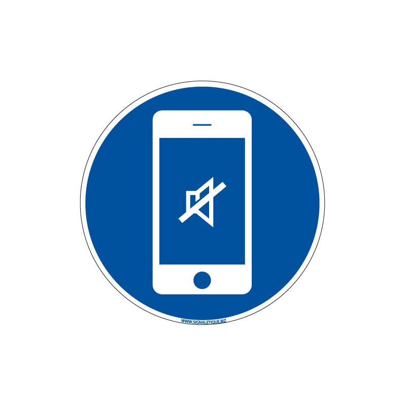 PANNEAU TELEPHONES PORTABLES EN SILENCIEUX (E0680)