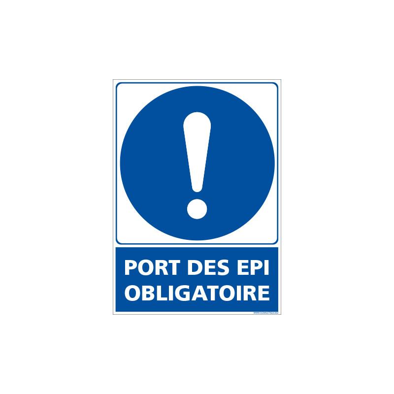 PANNEAU PORT OBLIGATOIRE DES EPIS (E0681)
