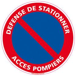 DEFENSE DE STATIONNER ACCES POMPIERS (A0421)