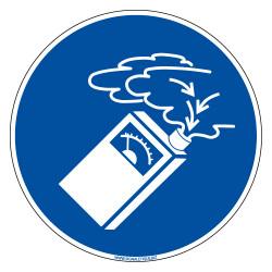 PANNEAU DETECTEUR DE FUMEE (E0696)