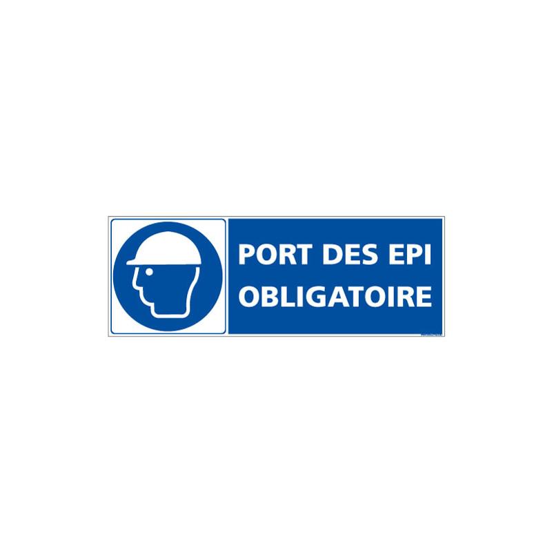 PANNEAU PORT DES EPI OBLIGATOIRE (E0698)