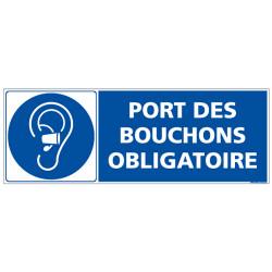 PANNEAU PORT DES BOUCHONS OBLIGATOIRE (E0700)